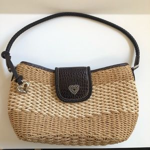 BRIGHTON Sydney Straw Shoulder Bag